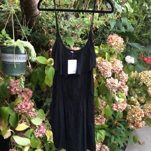 NEW! Cotton On black romper w/ pockets.